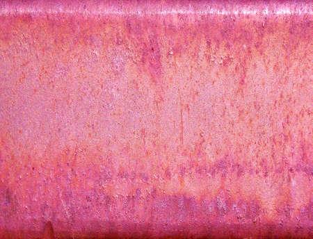Rusty Metal In Pink Zdjęcie Seryjne