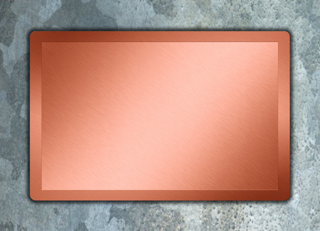 bronz texture on a aluminium background