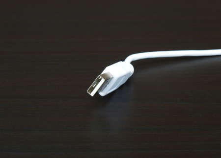 usb: USB Cable Stock Photo
