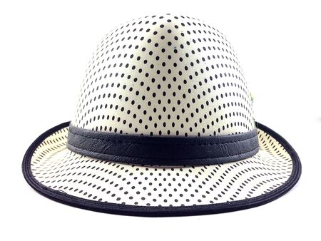 prety: in front of prety hat with girdle on white background.