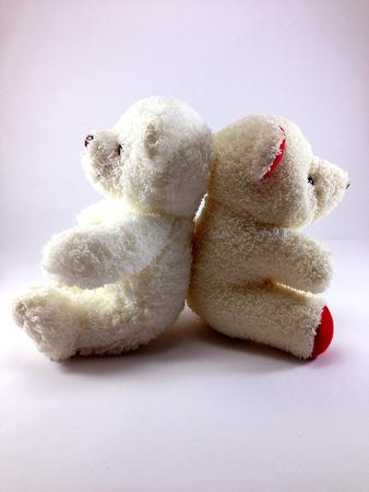 sulk: TEDDY BEAR white color - sweetheart - sulk