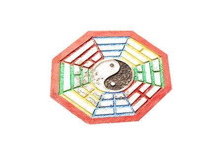 mystic: mystic symbol china, Yin-Yang Stock Photo