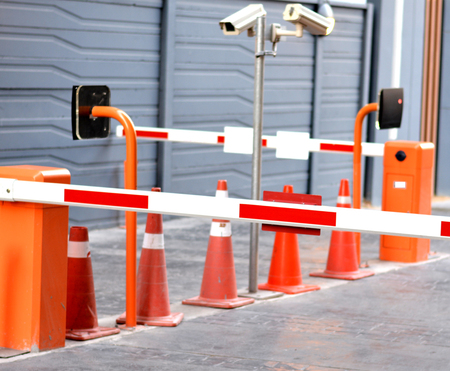 keycard: Parking gates automatic with keycard