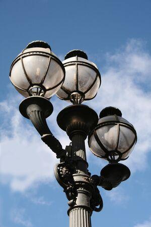 streetlamp: Vintage street light