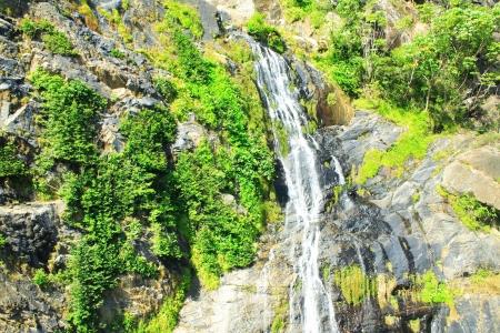 Baron waterfall close to Kuranda, Queensland Stock Photo - 17071798