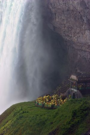 Scenic Caves at the Horseshoe Falls, Niagara Falls, Canada