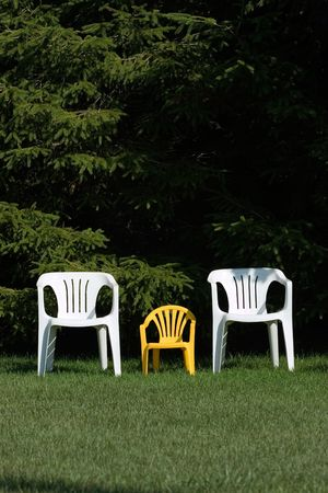 Family of chairs - verticle 版權商用圖片 - 573256