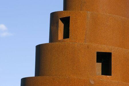 Edge of spiral art Фото со стока