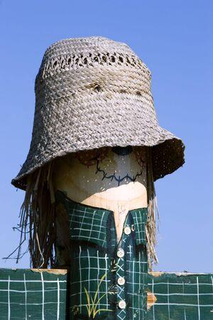 Scarecrow post 版權商用圖片