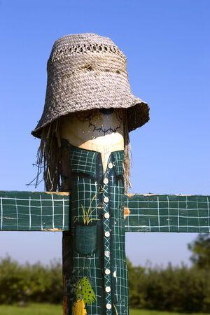 Scarecrow post 2
