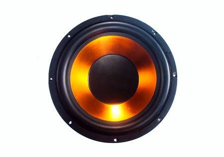 sub woofer: Subwoofer speaker isolated