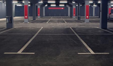 Parking souterrain Banque d'images