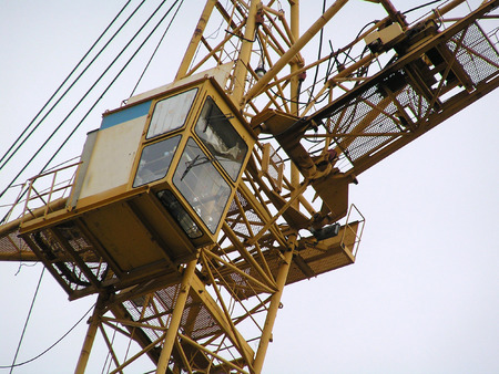 roughneck: Cabin of the tower crane