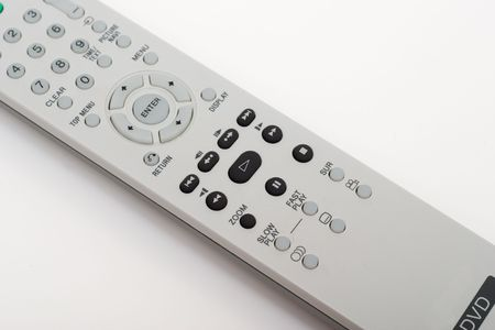 DVD remote control. Close-up