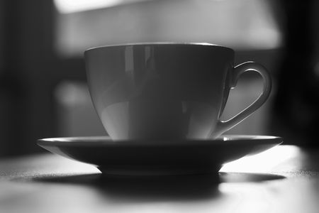 emphasize: Hot coffee. Little depth of field to focus on feeling the heat. Extreme colors to emphasize the idea