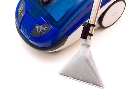 Modern washing vacuum cleaner isolatd on white back ground. Stock Photo - 3810037