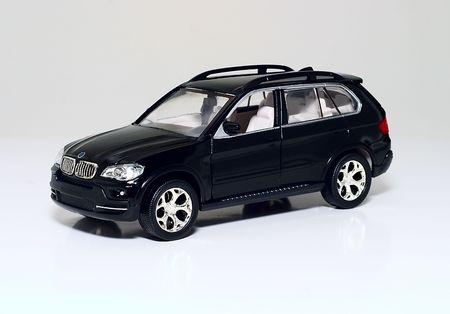 prestige: Model of modern prestige car on a light background