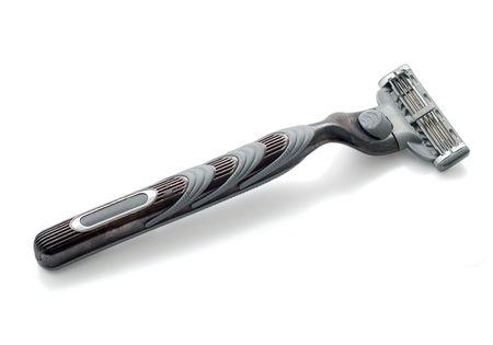 razor blade: Razor blade isolated on white background