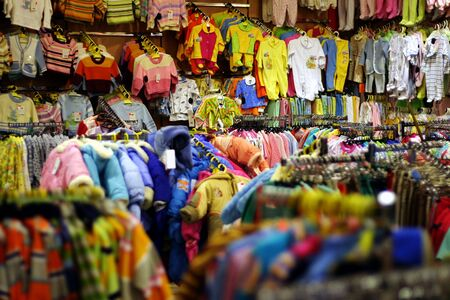 Shop of childs clothes