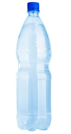 Plastic water bottle isolated on a white background Stock Photo - 5709357