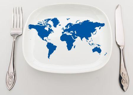 superiority: Concepto: todo el mundo en el plato. Superioridad