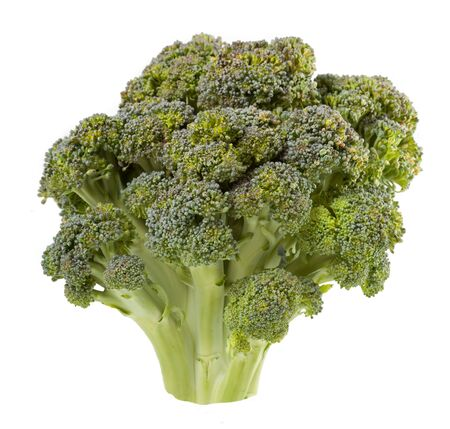broccolli: Broccoli is isolated on a white background