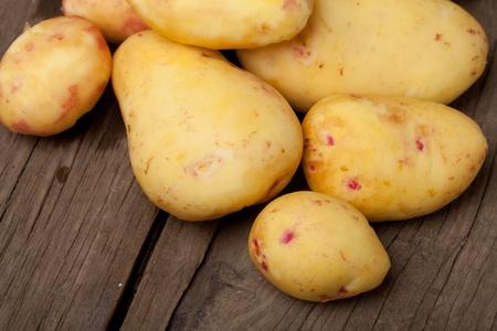 viands: Potatoes close-up