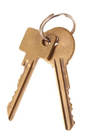 cutcat: Keys isolated Stock Photo