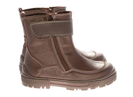 Zapatos de invierno de los niños