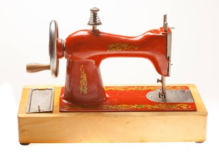 Child sewing machine Stock Photo - 9544884