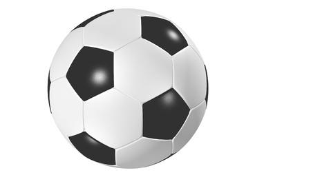 cutcat: Football isolated Stock Photo