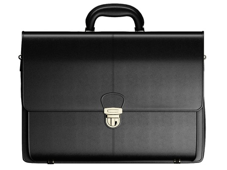 Briefcase isolated photo