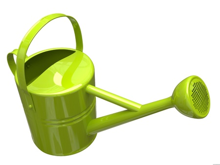 Garden watering can Stock Photo - 9923737
