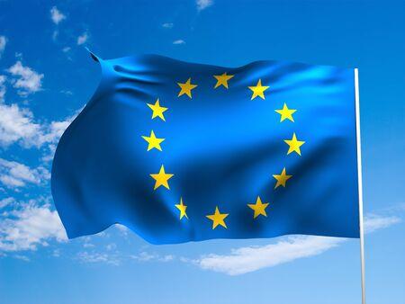 Flag of Europe photo