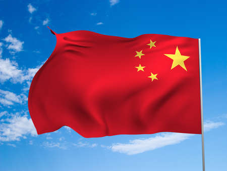 solemn land: Flag of China