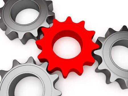 Four gears Reklamní fotografie