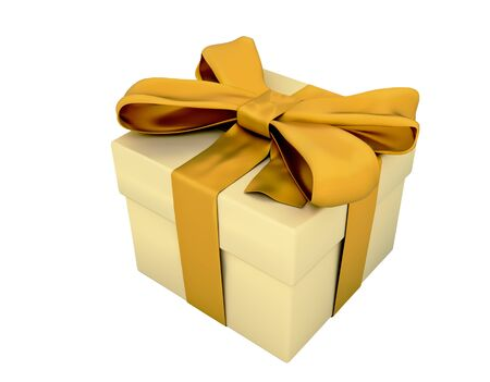 cutcat: Gift box isolated