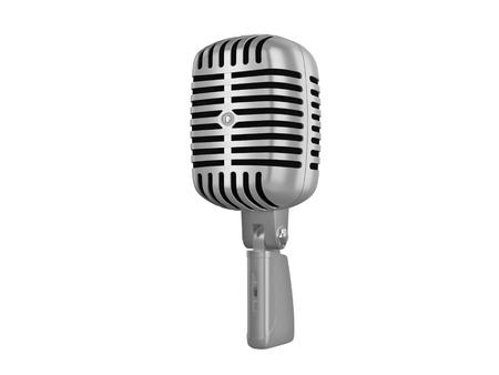 cutcat: Studio retro microphone