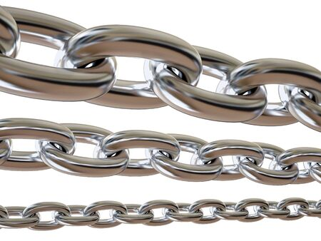 catena: Metal chain isolated