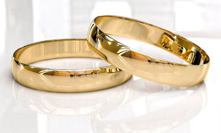 Wedding rings Stock Photo - 13117237