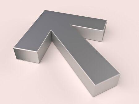 Metal arrow Stock Photo - 14329851