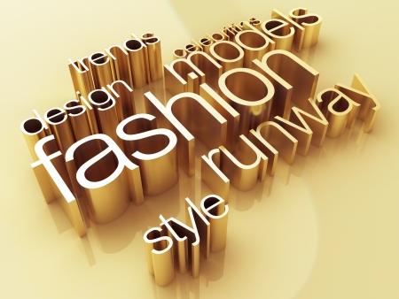 divat: Divatvilág Stock fotó