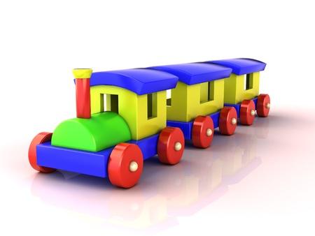 Toy train Stock Photo - 15630589