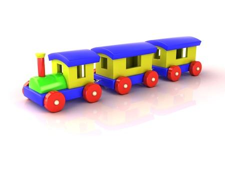 cutcat: Toy train