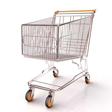 cutcat: Shopping cart isolated