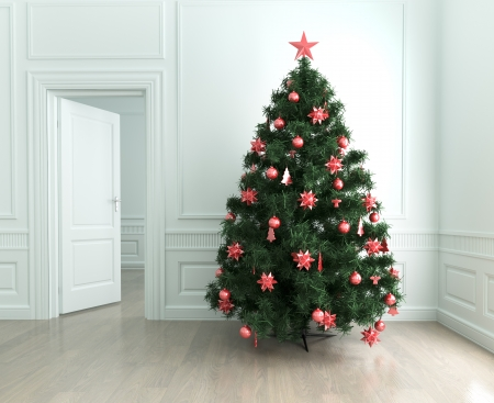 gladden: Christmas tree