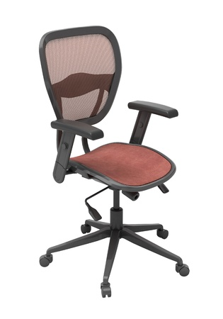 Modern office chair isolated on white background Stock Photo - 18783724
