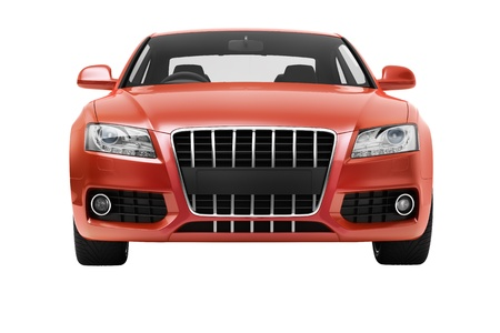 headway: Luxury car in the studio on a light background Stock Photo