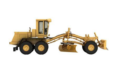 Grader in the studio on a light background Stock Photo - 20560526