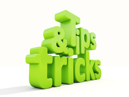 gimmick: Tips and tricks icon on a white background. 3D illustration.